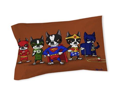 Queen Size Superhero Bedding 3829 front