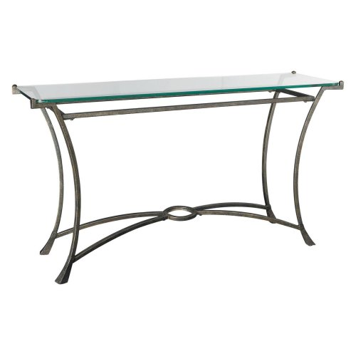 Cheap Hammary Sutton Glass Top Console table (HAMM438-PID212907)