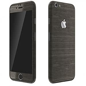 METAL SERIES SKINS/WRAPS FOR IPHONE 6S BRUSHED ONYX