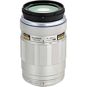 Olympus 75-300mm f/4.8 Lens for Olympus Pen Cameras, Micro Four-Thirds Mount Cameras