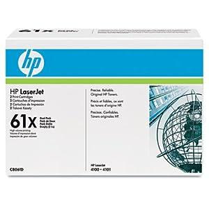 HP C8061D Toner Cartridge, HP C8061X Dual Pack