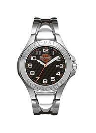Harley-Davidson Mens Bulova Wrist Watch 76B148
