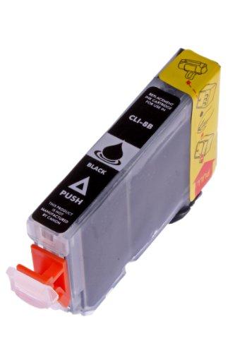 Druckerpatrone für Canon CLI 8 , CLI-8 , CLI8 mit Chip Canon Pixma IP4500 canon IP5200 canon IP5200R canon IP5300 Black/Schwarz