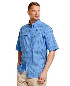 Under Armour Mens UA Flats Guide Plaid Short Sleeve Shirt by Under Armour