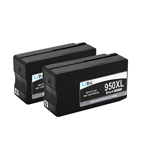 LxTek Remanufactured Ink Cartridge Replacement for HP CN045AN (Black,2-Pack)