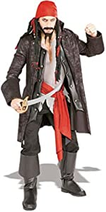 Rubie's Costume Pirates of the Seven Seas Captain Cutthroat - Adult Standard