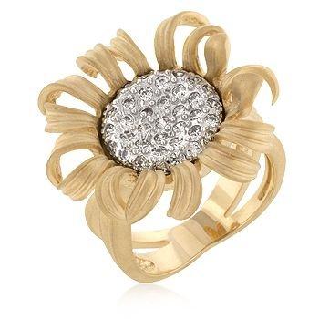 ISADY Paris Ladies Ring CZ Diamond Iris