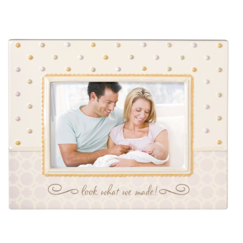 Grasslands Road Baby It's You Stoneware Frame, Mommy..Next to You is My Favorite Place to Be, 7-1/2 by 9-1/2-Inch, Holds 4 by 6-Inch photo - 1