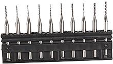 BQLZR 3,175 mm carburo de brocas maquinaria CNC PCB, 0 6-1 millimeter 5. Corte de 10 unidades
