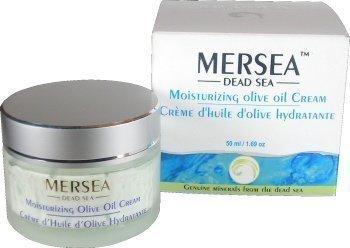 Totes Meer - Feuchtigkeitsspendende Tagescreme mit Olivenöl (UV-Schutz), 50 ml - Hochwirksame Premium Kosmetik - Direkt aus Israel vom Toten Meer