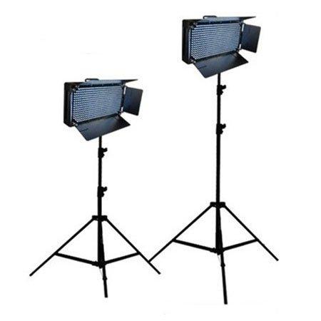 Cowboystudio Two 500 Led Lighting Banks And Light Stand Kit, Daylight Balanced For Photo And Video Studios