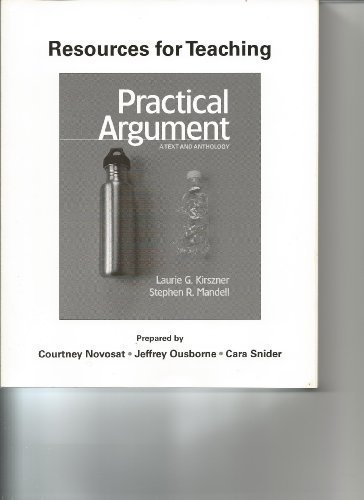 Resources for Teaching Practical Argument