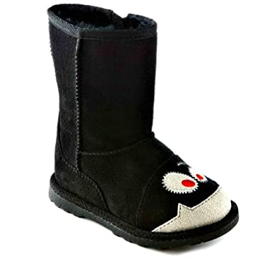 Jumping beans Toddler boots (9) Black