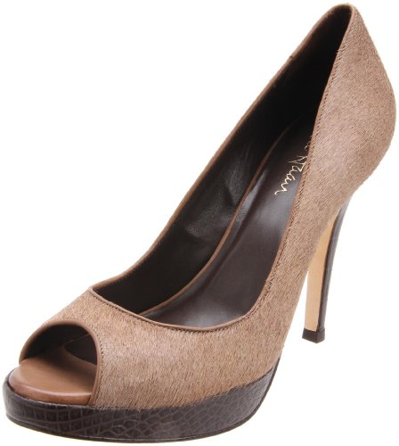 Cole Haan Women's Stephanie Air OT Platform Pump,Greige,8 B US