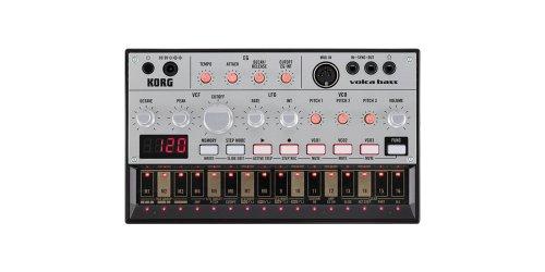 KORG コルグ シーケンサー内蔵 アナログ・ベース・シンセサイザー volca bass ヴォルカ・ベース