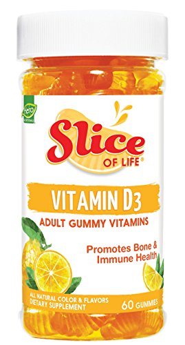海外直送品 Yummi Bears Slice Of Life Vitamin D3, 60 CT