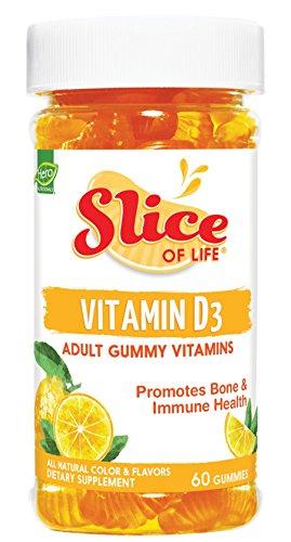 Hero Nutritional Products Hero Nutritionals Slice of Life Vitamin D3 60 Gummies