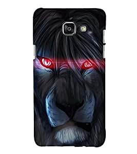 printtech Lion Red Eye Art Back Case Cover for Samsung Galaxy A3 (2016)