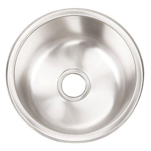 Artisan Prem. Undermount Stainless Stl 16-1/4X16-1/4X8 0-Hole Bar/Prep Sink - Ao16D8-D