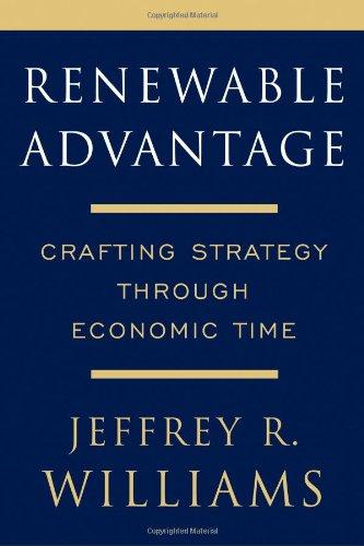 Renewable Advantage: Crafting Strategy Through Economic Time