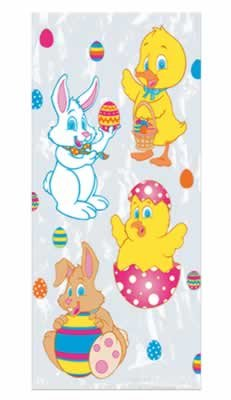 Easter Cello Bags Party Accessory (1 count) (25/Pkg)