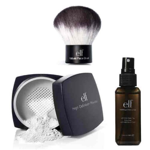 high definition loose face powder with makeup mist and set clear item ...
