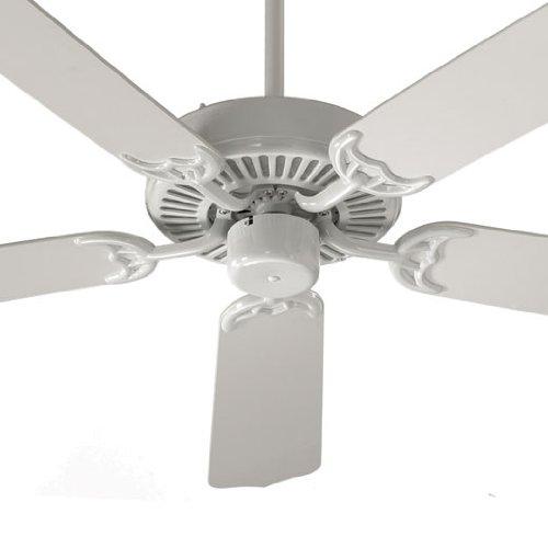 Ceiling Fan Matte Black Finish Quorum 1435255959 Estate Patio