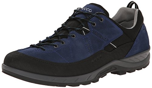 Ecco ECCO YURA MEN'S, Scarpe sportive outdoor uomo, Blu (Black/True Navy), 42