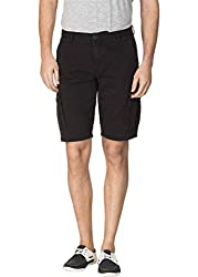 Travellers Essential Grey Cargo Shorts(12040200901)