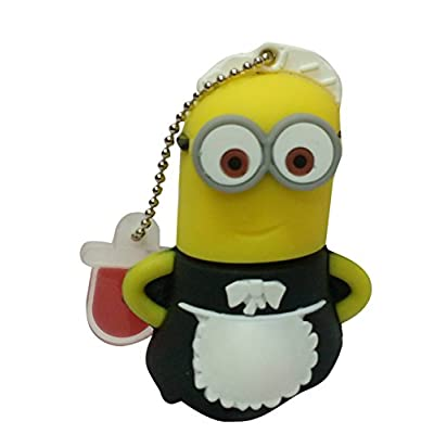 Hitkart USB Flash Drive New Style Minion P20-16GB Storage Device USB 2.0 or Higher