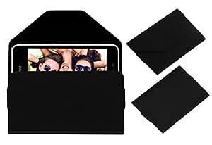 Acm Premium Pouch Case For Infocus Bingo 10 Flip Flap Cover Black