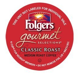 48 Count - Folgers Gourmet Selections Classic Roast Coffee For Keurig Brewers