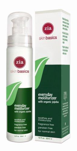 Zia Everyday Moisturizer with Organic Jojoba, 1.6 Ounce Bottle