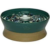 TIKI Clean Burn 10-in Ceramic Tabletop Torch (Teal)