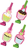Creative Converting Sweet Treats Birthday Party Blowouts 8 Count