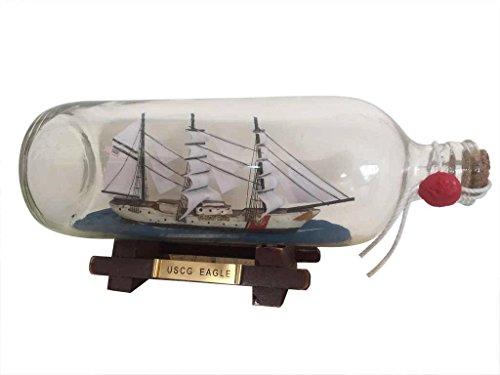 USCG Eagle Ship In A Bottle 9