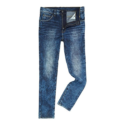 (ドクターデニム) DR DENIM メンズ ボトムス ジーンズ Tapered Skinny Medium Wash Dropped Crotch Jeans Denim Mid Wash [並行輸入品]