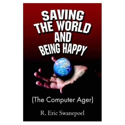 "The cover of the original paperback version of ""Saving the World""."