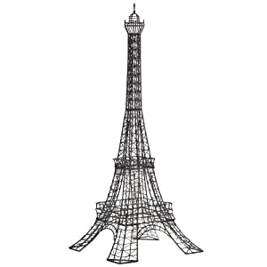 Wire Eiffel Tower Sculpture, Metal
