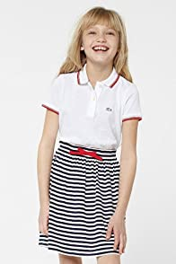 Girl's Striped Jersey Skirt