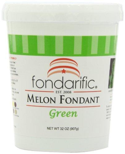 Fondarific Melon Fondant Green, 2-Pounds
