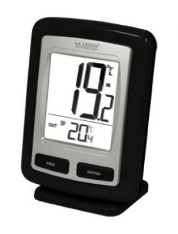 thermometre interieur exterieur sans fil pas cher. Black Bedroom Furniture Sets. Home Design Ideas
