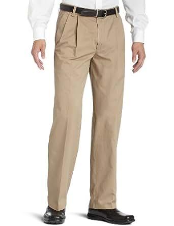 Dockers Men's Pleated True Chino Pant, Khaki, 30x30