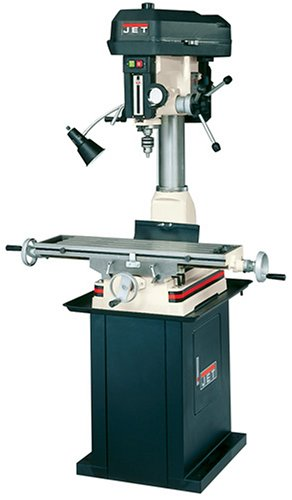 JET JMD-18PFN 230-Volt 1 Phase Mill/Drill Built-in Power Downfeed (Drill Press Mill Table compare prices)