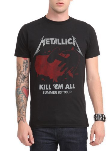 Metallica Kill Em All Summer 83 Tour T-Shirt