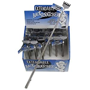 Telescoping Back Scratcher Metal Telescopic Handle Grip Extendable Backscratcher