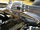 Chrome Wide Blade Levers for Yamaha Drag Star XVS650 & XVS1100 Models