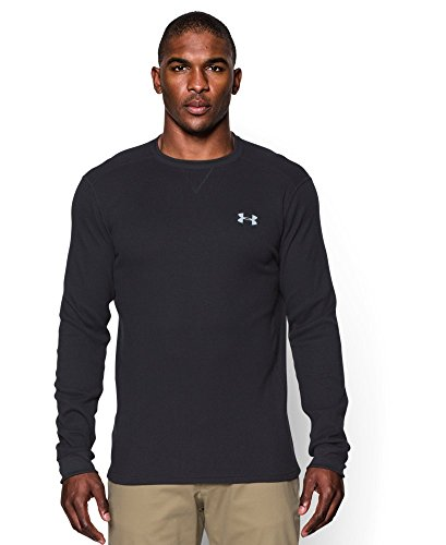 Under Armour Men's UA Amplify Thermal Crew Small Black