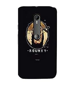 EPICCASE Bounty Mobile Back Case Cover For Moto G Turbo (Designer Case)