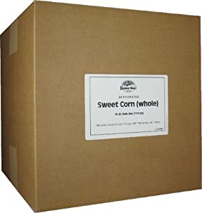 Dehydrated Corn (25 lb. Bulk Box) - For Cooking, Camping, Hiking, Food Storage,... by Harmony House Foods